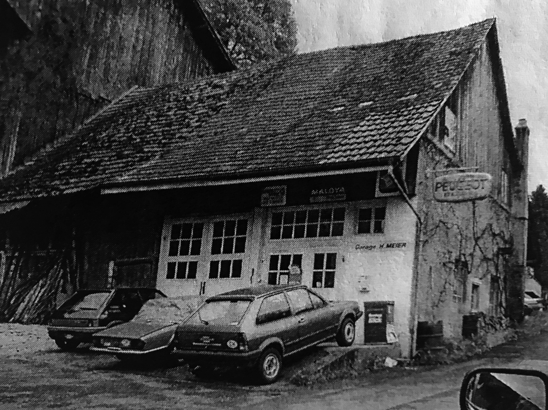 Die Geschichte beginnt in Mellikon mit der ersten Garage